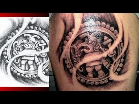 AZTEC TATTOO DESIGNS - Mayan Aztec Inca Prehispanic Tattoo ...