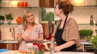 Angela Hartnett Red Mullet with Linguine saturdaykitchenrecipesearch.co.uk