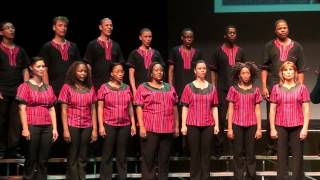 Voices of Namibia sing Alleluja by Romuald Twardowski in Fairfield, IA, US Tour 2012