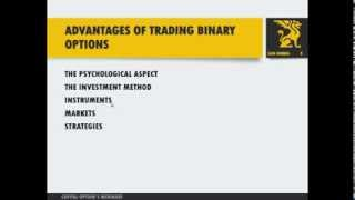 Advantages Of Trading Binary Options