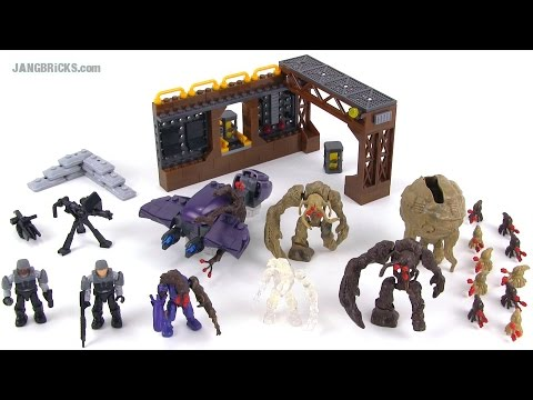 Mega Bloks 97430 Flood Invasion set review!