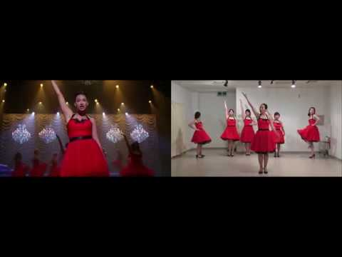 Download Gleedom - Edge Of Glory (Glee Dance Comparison)
