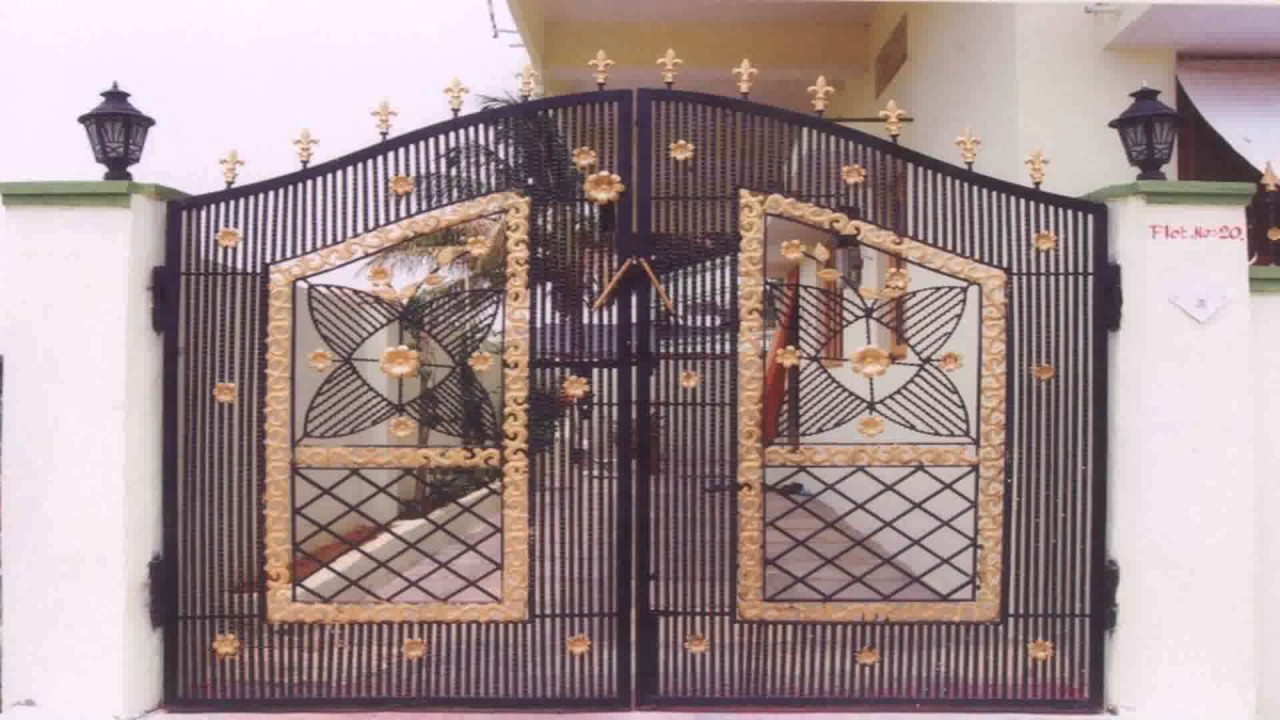 House door design indian style youtube Front door grill designs india