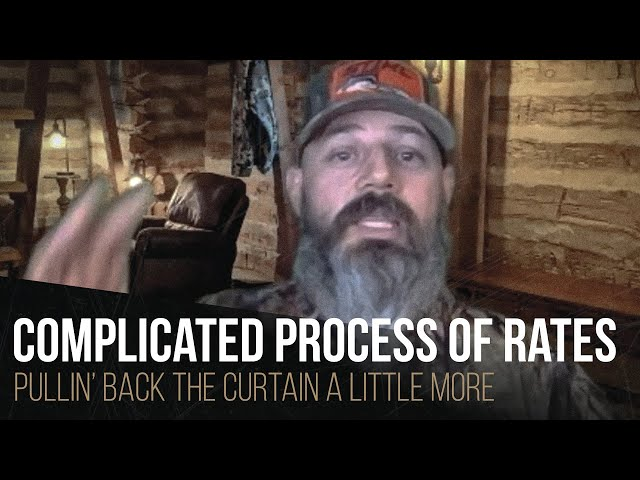 Complicated process of rates