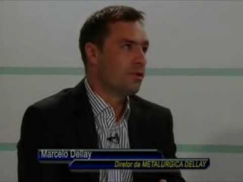 Indústria Metalúrgica Dellay - Destaque Brasil 16/02/2014 - Band Tv RS