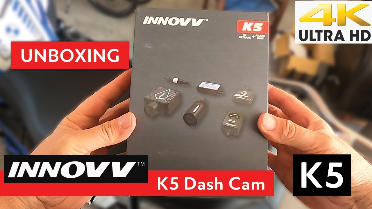 INNOVV K5 Unboxing - Dash Cam for Powersports