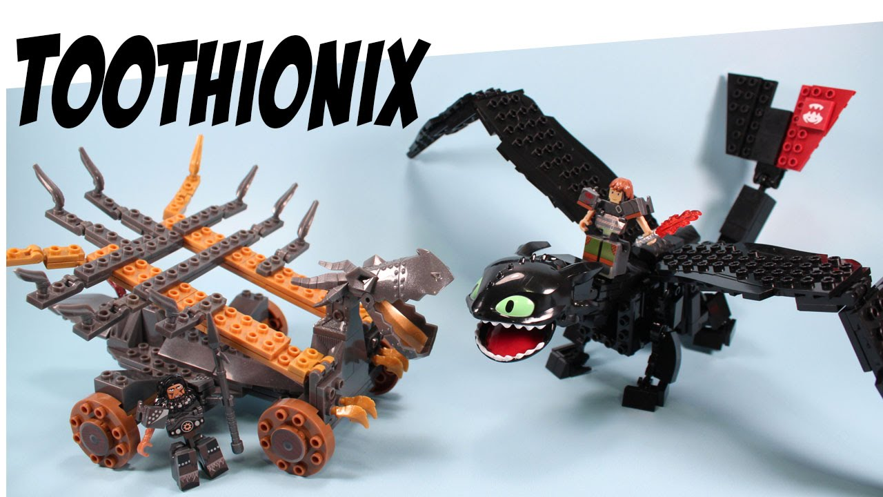 How to train your dragon 2 ionix giant toothless battle set youtube ccuart Choice Image