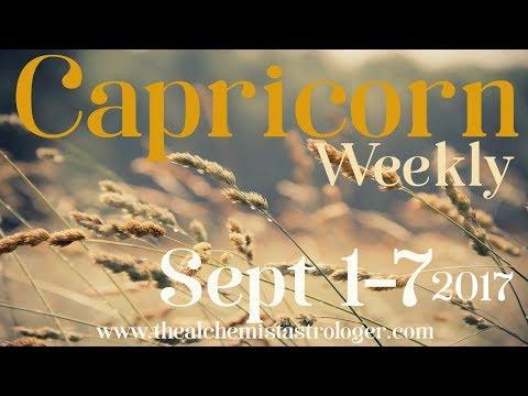 "Capricorn September 1 - 7 2017/Week 1 General Tarot Reading - ""Heal thyself"""