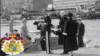 Gustaf VI Adolf på statsbesök till Finland 1952