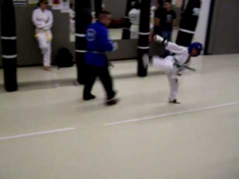 Download Cheney's Karate - Jason Ramos' practice sparring with Lyle Cheney, his instructor .