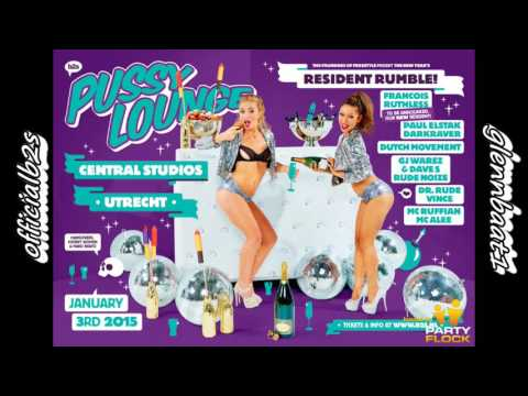 Pussy Lounge Central Studios 2015 @Ruthless, Darkraver, Paul Elstak & The Viper  [HD + Download]