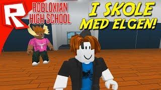 I SKOLE MED DEN MANDIGE ELG! - Robloxian High School Dansk Ep 1
