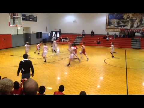 Atlanta Celtics 2019 Braxton Hicks 7th grader Rabun County Middle School Highlights
