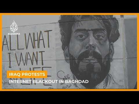Iraq's internet blackout continues amid violent anti-gov't protests