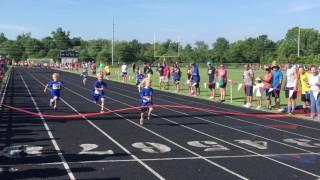 Runner's Camp 2016 - Elliott runs the 100m