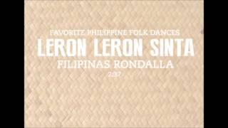 Leron Leron Sinta (Audio Only) - Favorite Philippine Folk Dance (Filipinas Rondalla)