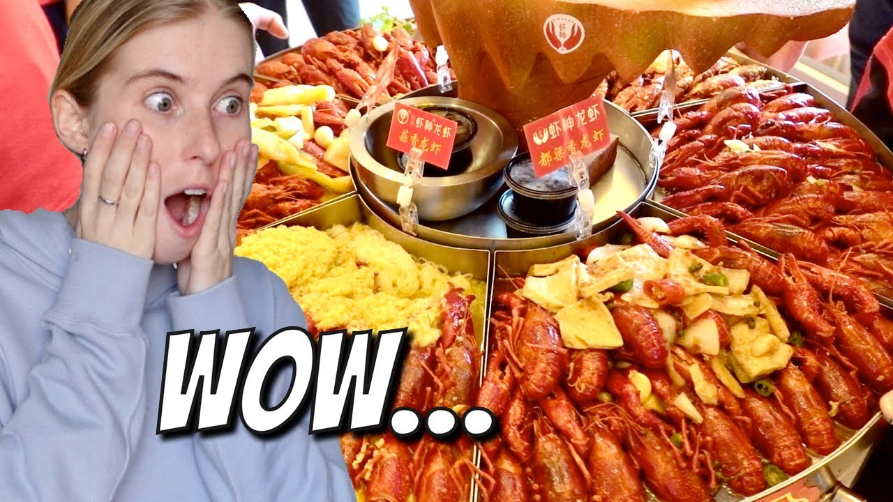 China's magical crayfish - eat and not gain weight??!