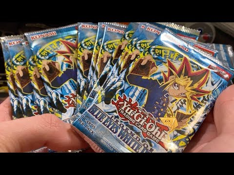 I Bought A TON Legend Of Blue Eyes White Dragon Booster Packs