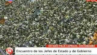 Mandatarios del ALBA expresan apoyo al presidente Evo Morales 17/10/2009