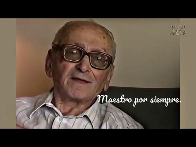 Inolvidable Osvaldo Pugliese  ícono del tango Buenos Aires y Tango Mundo. English USA subtitle.