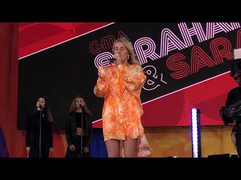 Ellie Goulding Flux 6/14/19 GMA Strahan And Sara Central Park