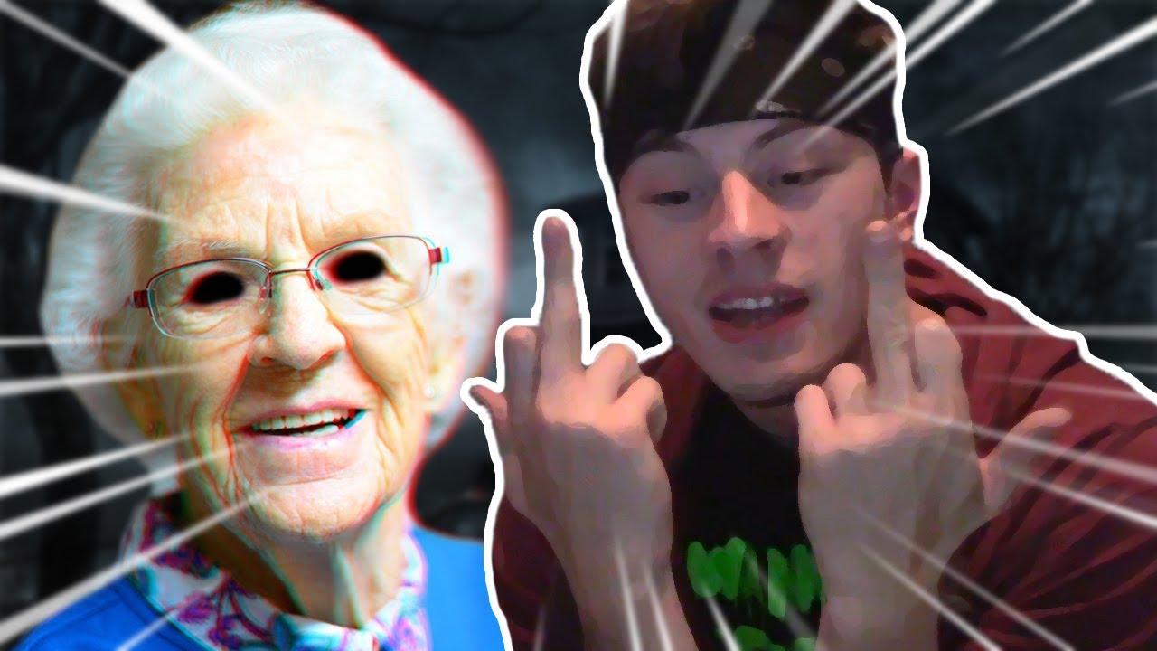Freaky grandma