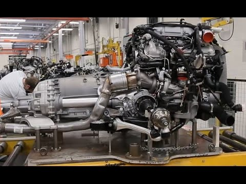 How Are Engines Made Bentley W12 Engine Assembly