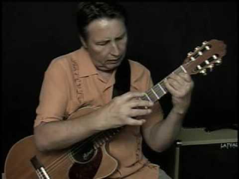 BEATLES' YESTERDAY Jazz Fingerstyle Guitar Arrangement Lesson Demo