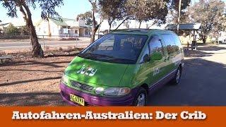 Der Crib Camper von JUCY in Australien, getestet von Reisebine