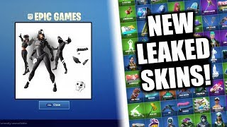 SKINS FUITE FORTNITE DE NOUVEAU! SECRET SHADOW LEGENDS SET! (Shadow Sunbird, King Flamingo - PLUS!)