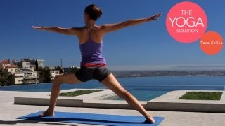 Balanced Strength-Building Yoga Routine | The Yoga Solution With Tara Stiles