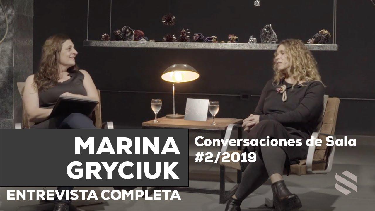 Conversaciones de Sala #2/2019 - Marina Gryciuk