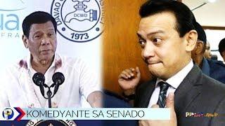 President Duterte calls Trillanes and Alejano as comedians, mga 'kenkoy'