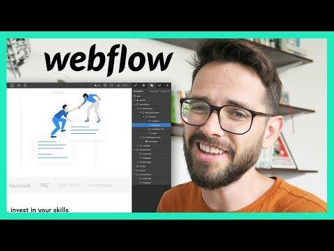 Web Design Process Pt. 4 - Development (with Webflow)