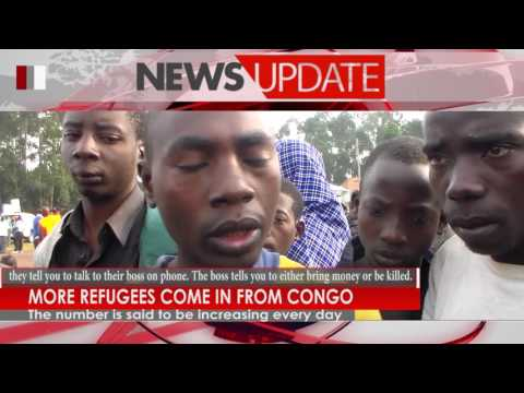 More refugees come in from Congo