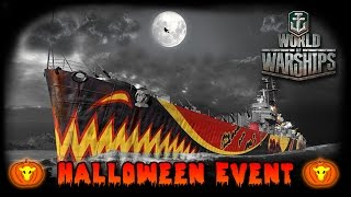 World of Warships - Halloween Event - The Salem Witch [ deutsch | gameplay ]