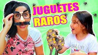 SLIME con MOSCAS, MASCOTA MÁGICA y MÁS! Abriendo Juguetes Raros - PLAY con SandraCiresArt ft MIA