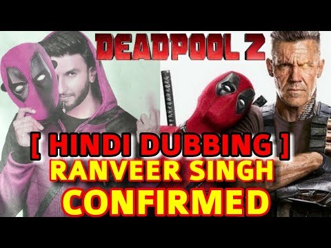 RANVEER SINGH TO DUB FOR THE HINDI VERSION...