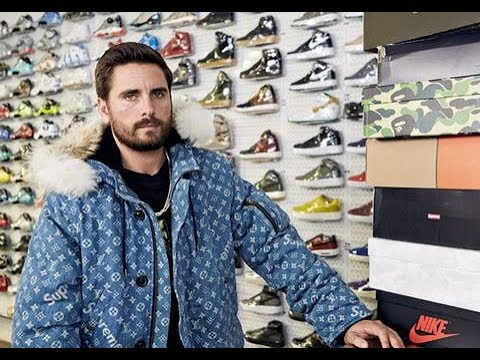 da6cc556a0b2 Scott Disick Goes Sneaker Shopping With - Complex - YouTube