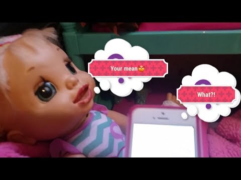 Baby Alive Cora, Khloe, Elley, and Mady text Me!