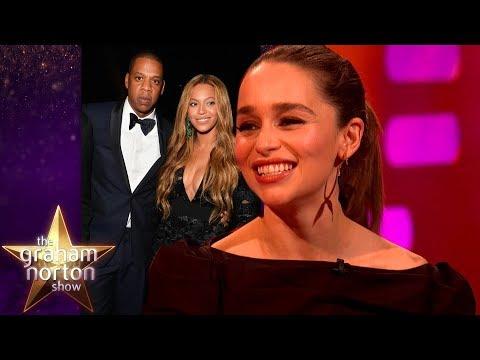 Emilia Clarke Cried When She Met Beyonce & Jay Z   The Graham Norton Show