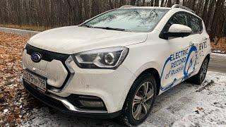 Взял китайский электромобиль JAC iev7s - будущее в прошлом