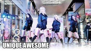 유에이 U.A (UNIQUE AWESOME) - K-POP DANCE PERFORMANCE @ 190921 홍대 애경뮤직룸 직캠 By SSoLEE