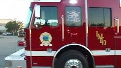 Lake Mary, FL - Lake Mary Fire Department - Sutphen custom pumper HS6183 aerial walk around