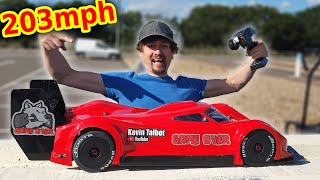 Project World's FASTEST RC Car 1st Run (EXPENSIVE FAIL!!!)
