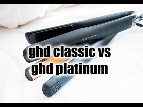 Ghd Platinum Vs Ghd Classic Styler Comparison Review