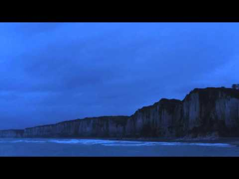 Cliff Ocean Winter at Yport Beach - Normandy France (Music by Bon Iver)