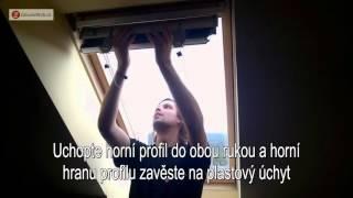 Montáž střešní žaluzie V-LITE - ZaluzieWeb.cz