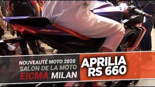 APRILIA RS 660 - Nouveautés moto 2020 - EICMA 2019