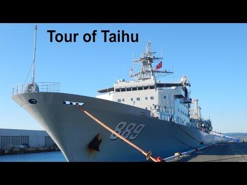 Tour of Chinese Military Ship Taihu